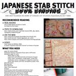 Japanese Stab Stitch Binding by Tsubasa-No-Kami