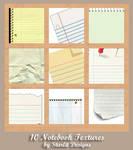 10 Notebook Textures