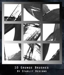 10 Grunge Brushes