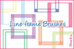 Line-frame brushes-100 x 100