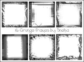Grunge frames by mystique87