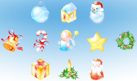 Christmas Icon Pack 3 by ArtVitamin