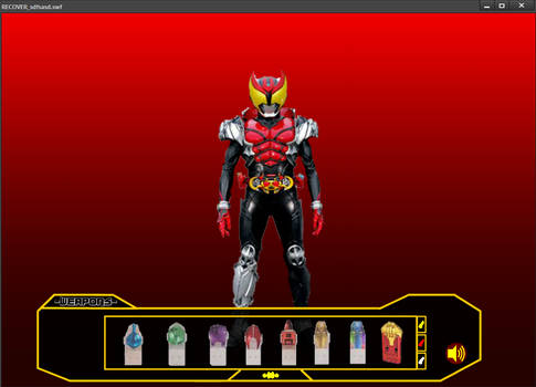 Kamen Rider Kiva Flash 3.00