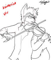 Vin and  Violin by Tatujapa