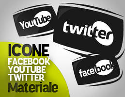 Facebook Twitter Youtube ICONS