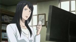 Tamura Looking at Shinichi's Pictures by otakubishounen