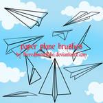 paper plane brushes