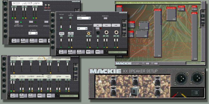 Mackie Skin for KX drivers
