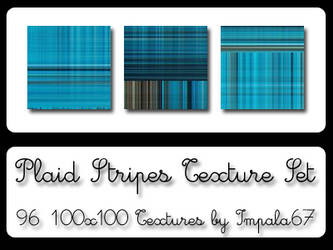 Plaid Stripes Texture Set by impala67