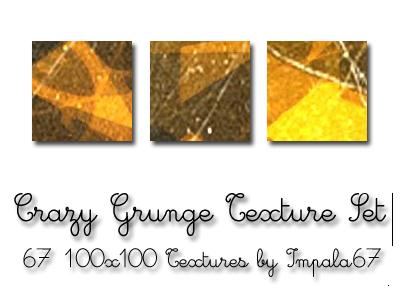 Crazy Grunge Texture Set by impala67