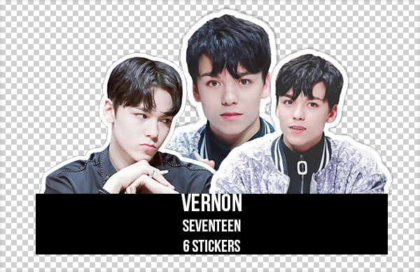 STICKERS #2 | VERNON | SEVENTEEN by KayleYoon on DeviantArt