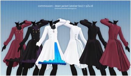 mmd commission - atelier boz dean jacket + p2u dl