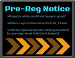 Pre-Reg EXTENDED to Feb 3rd!