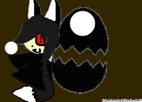 Kayashi and his Egg by MikasaReptitan