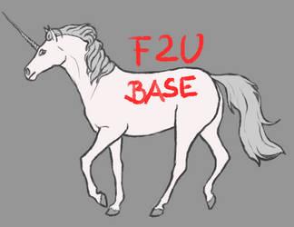 F2U Horse base
