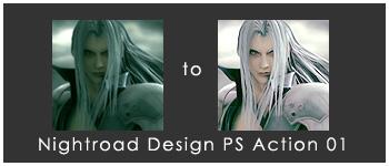 Sephiroth icon tutorial 01 by AsukaOgawa