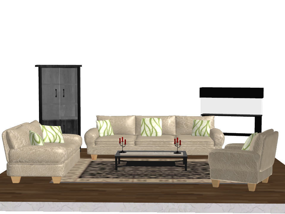 Pack object living room furniture by kellwesker on for Sweet home 3d living room furniture