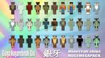 Ginga Minecraft Skins