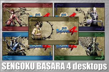 Sengoku Basara 4 desktop pack by FDQ