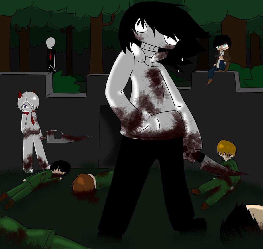 Jeff The Killer The Phantom Detective By Moviemowdown On