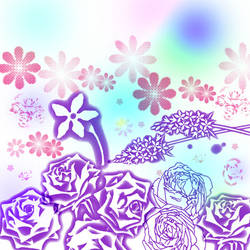 Flower Brush PS7 by ShinigamiNoAkui