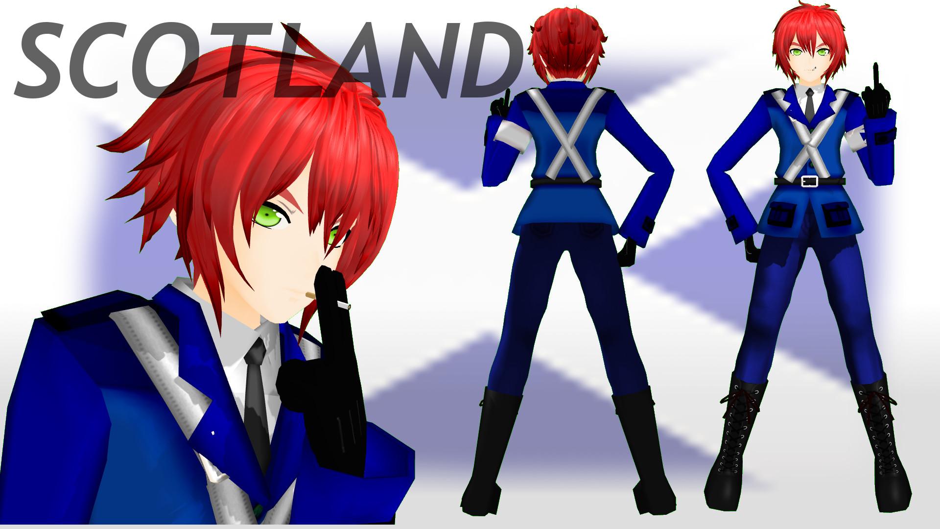 MMD Hetalia Scotland! DL by PrincessSushiCat