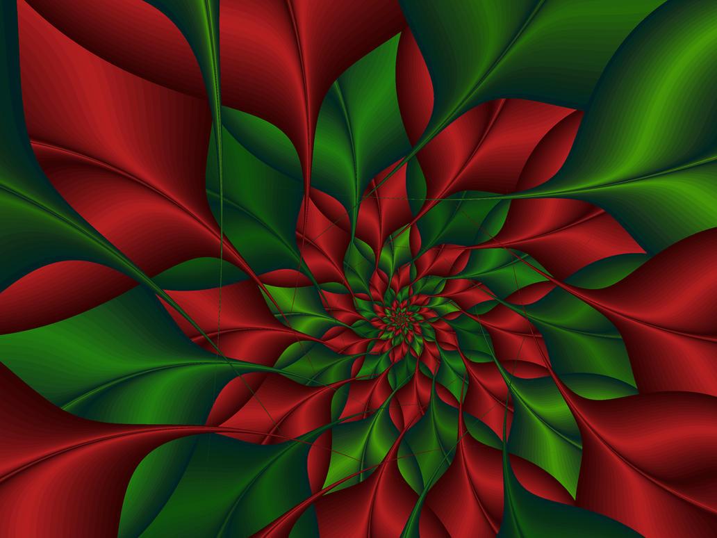 Christmas Flower Extraordinair by Frankief on DeviantArt
