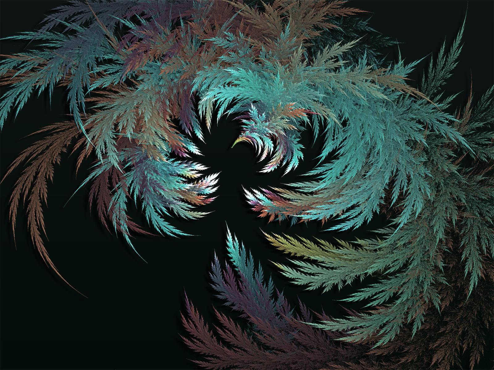 Metallic Leaves by Frankief