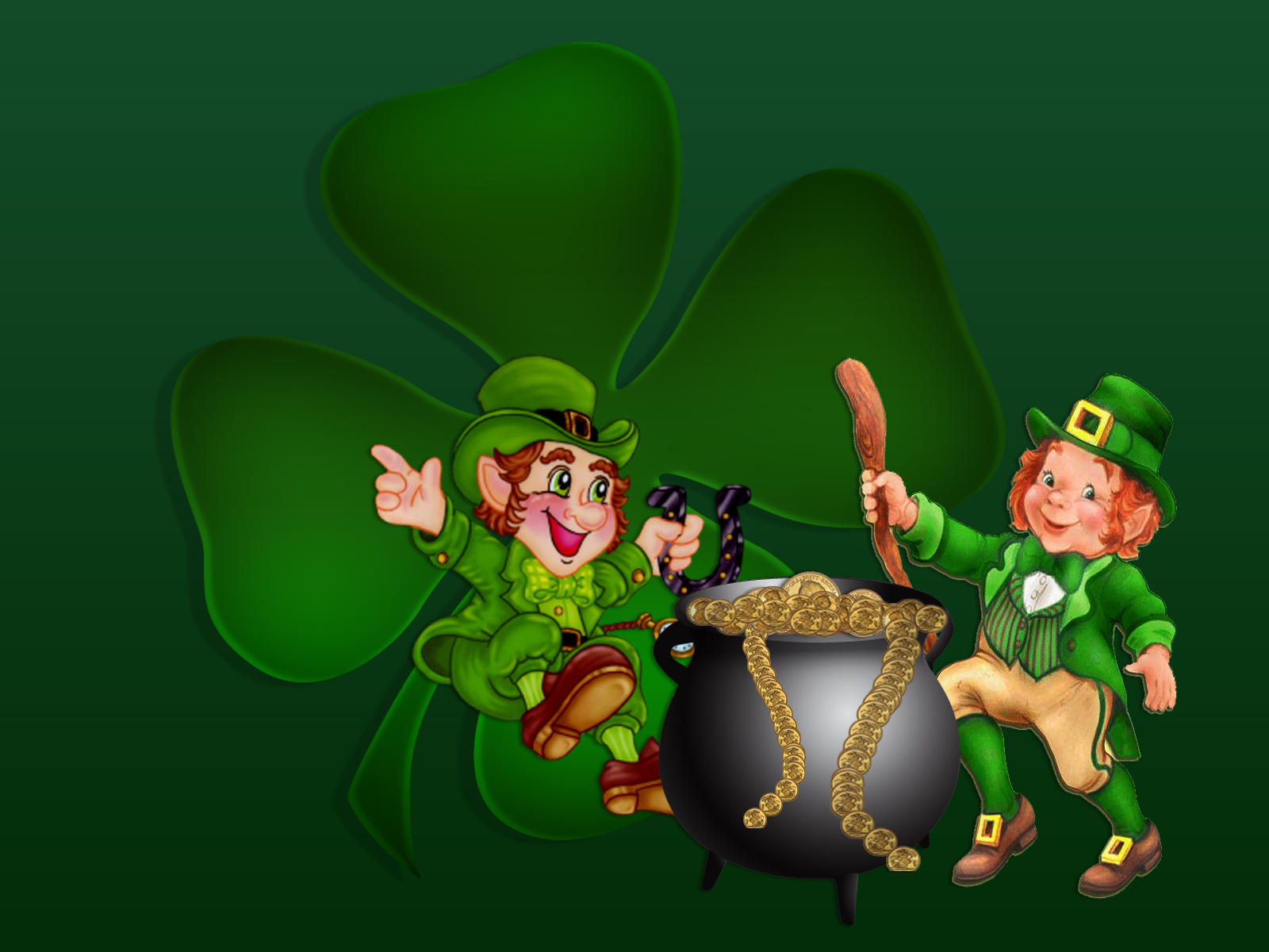 Saint Patricks Leprechauns by Frankief