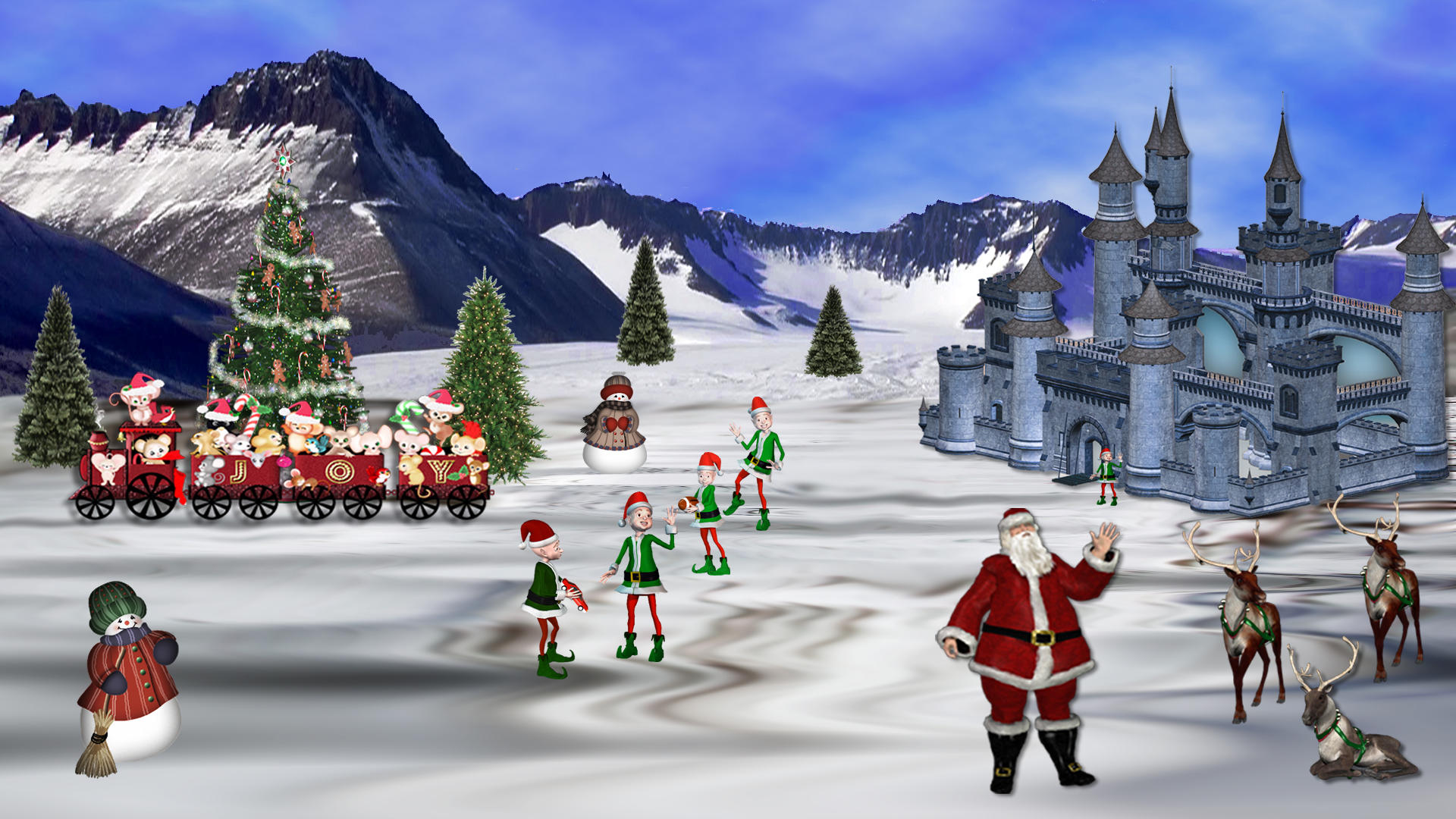Christmas Northpole by Frankief on DeviantArt