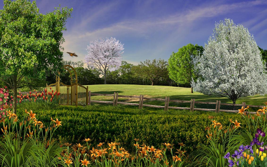 Spring Park by Frankief
