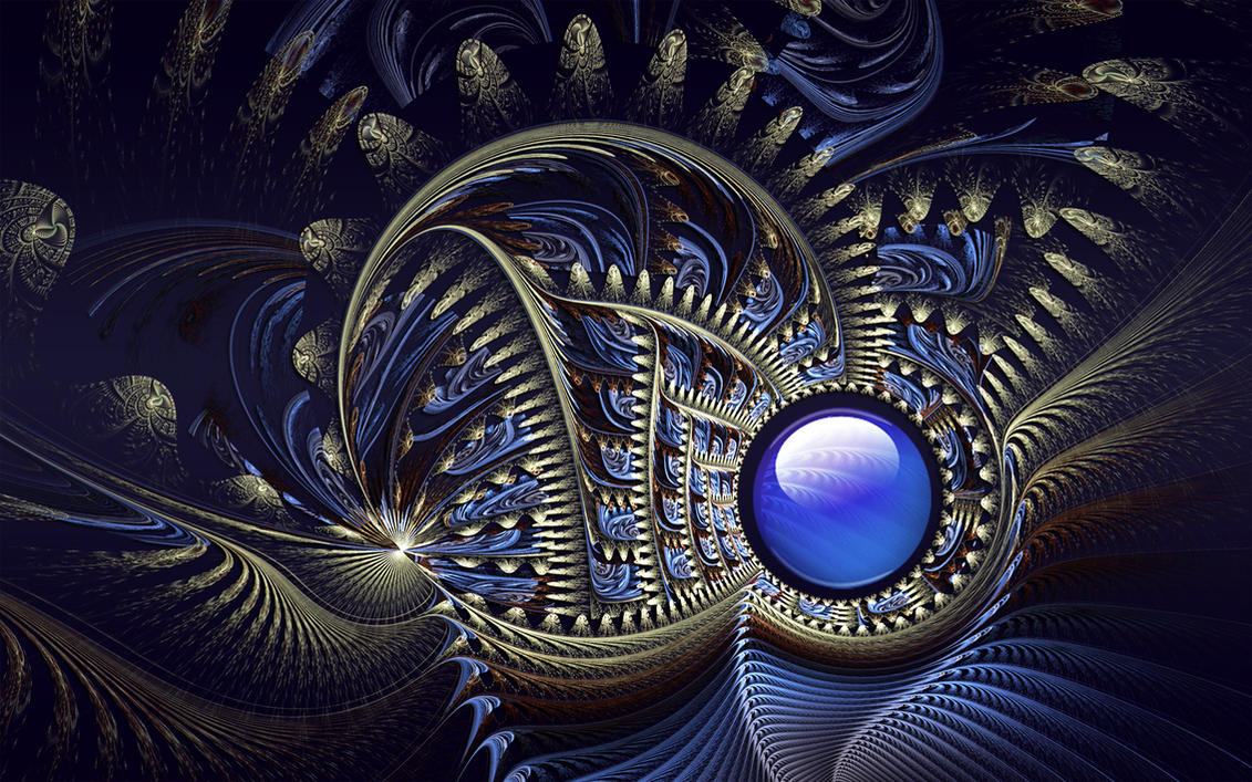 Indigo Gold by Frankief
