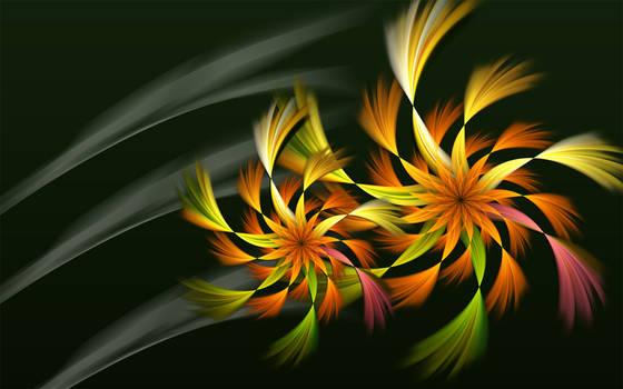 Shaggy Autumn Blooms