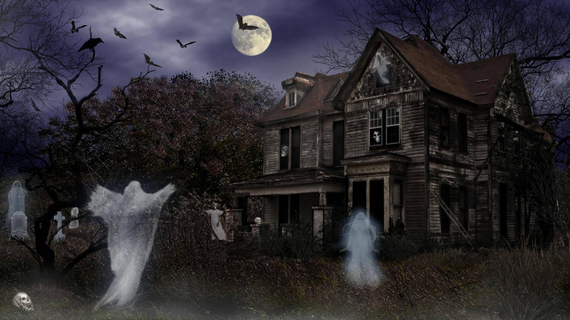 Halloween Haunted Mortuary by Frankief