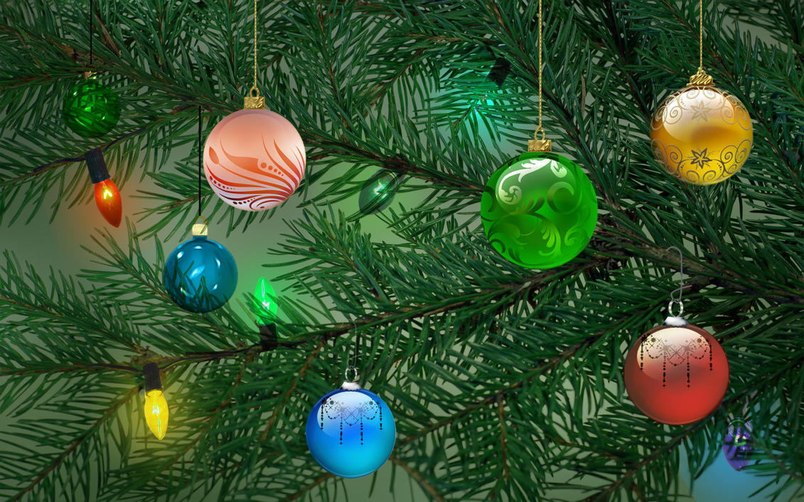 christmas tree branches by frankief - Christmas Tree Branches