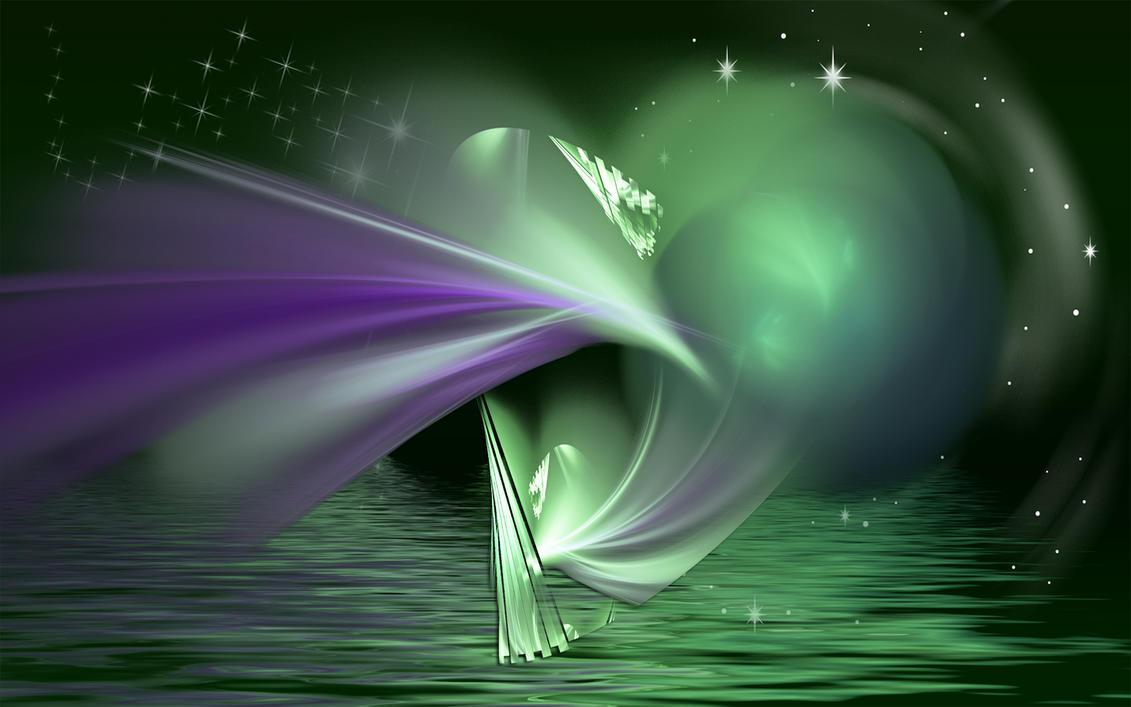 Serene Green by Frankief