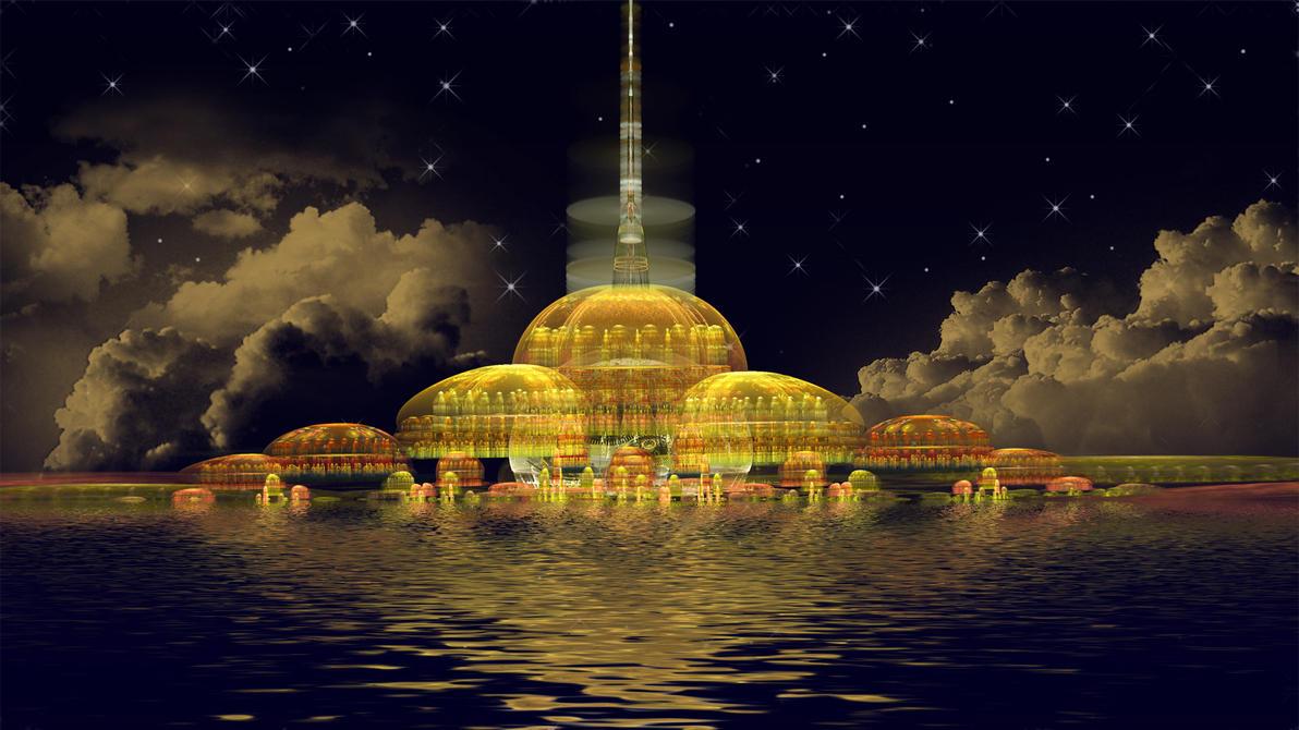 City Nights by Frankief