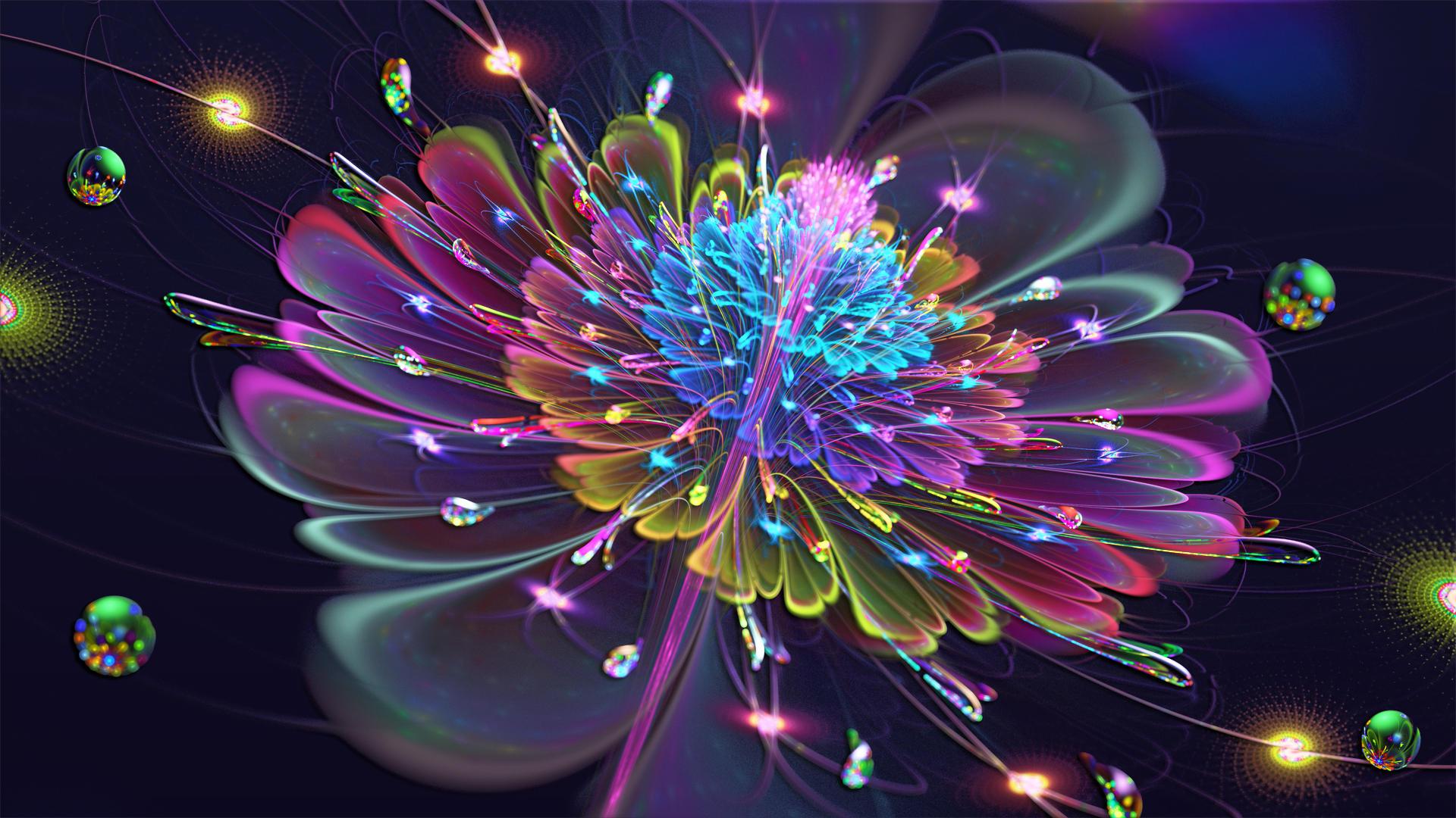 Fleur de vibrant by frankief on deviantart - Vibrant background ...