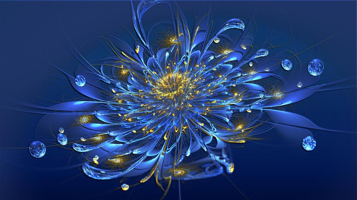 Blue Dew by Frankief