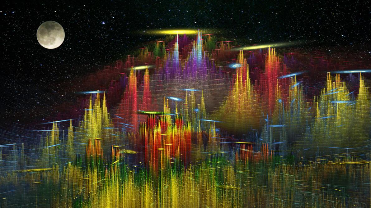 Alien World by Frankief