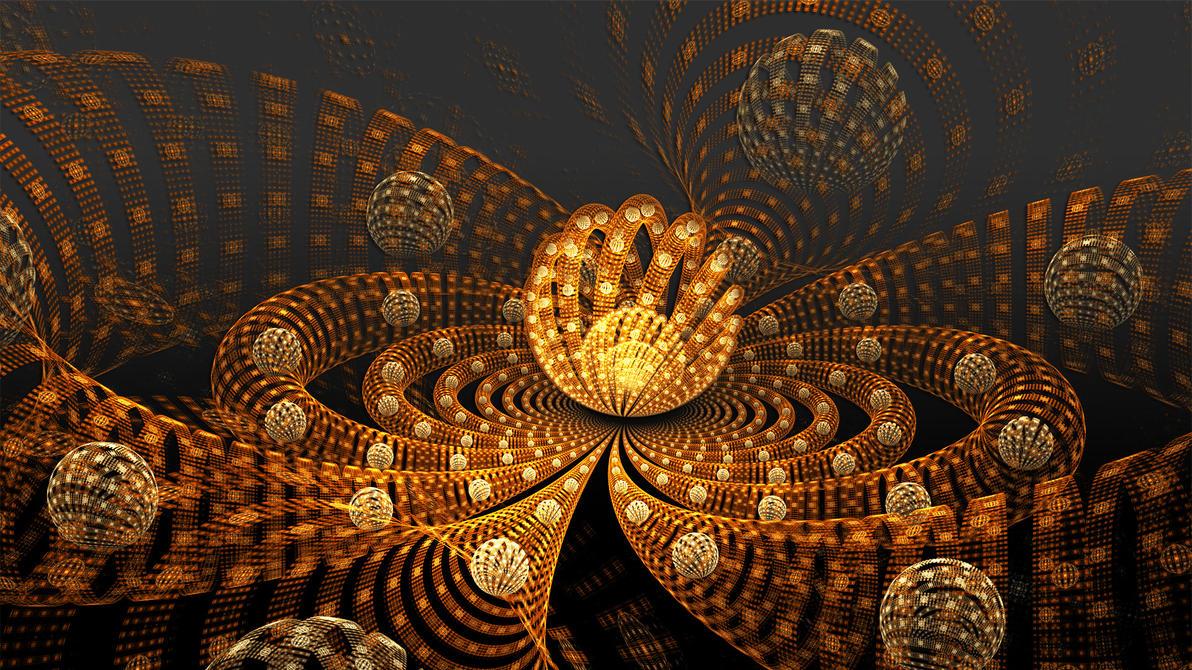 Orbit Orange by Frankief