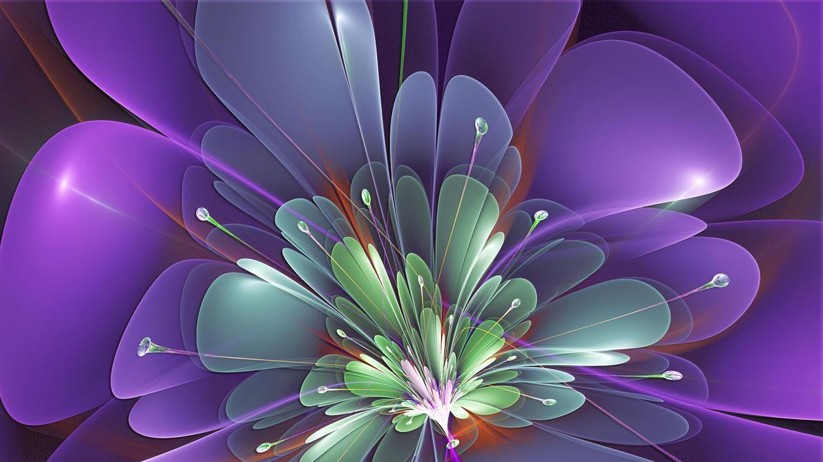 Violet by Frankief