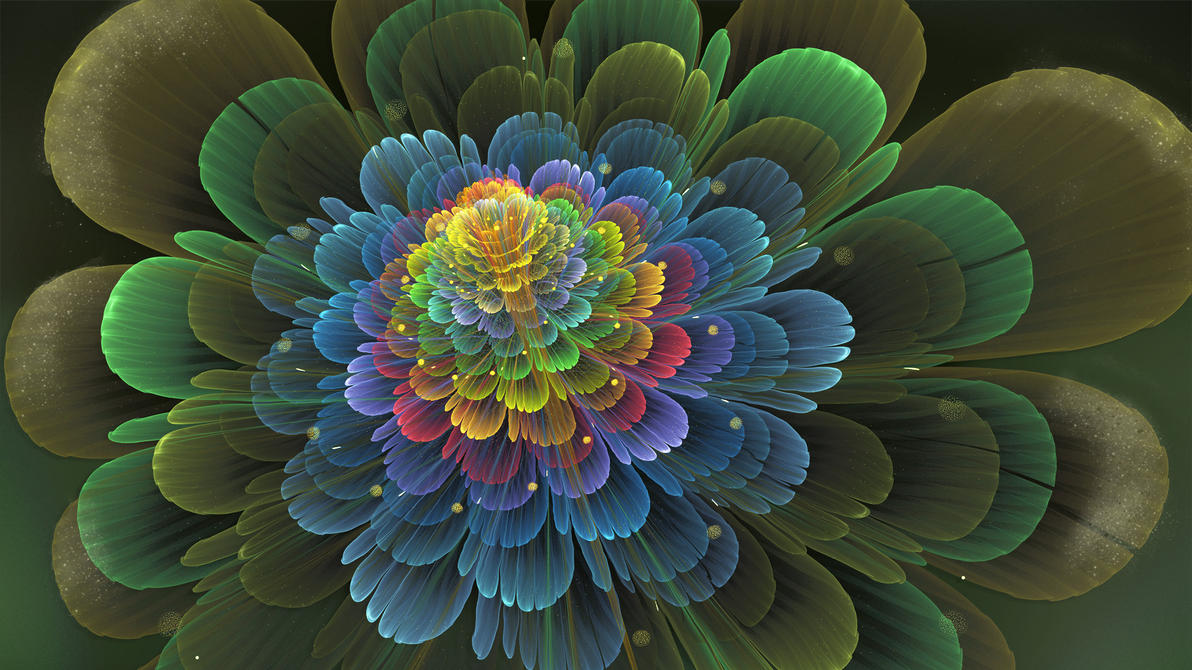 Fantasia Flower by Frankief