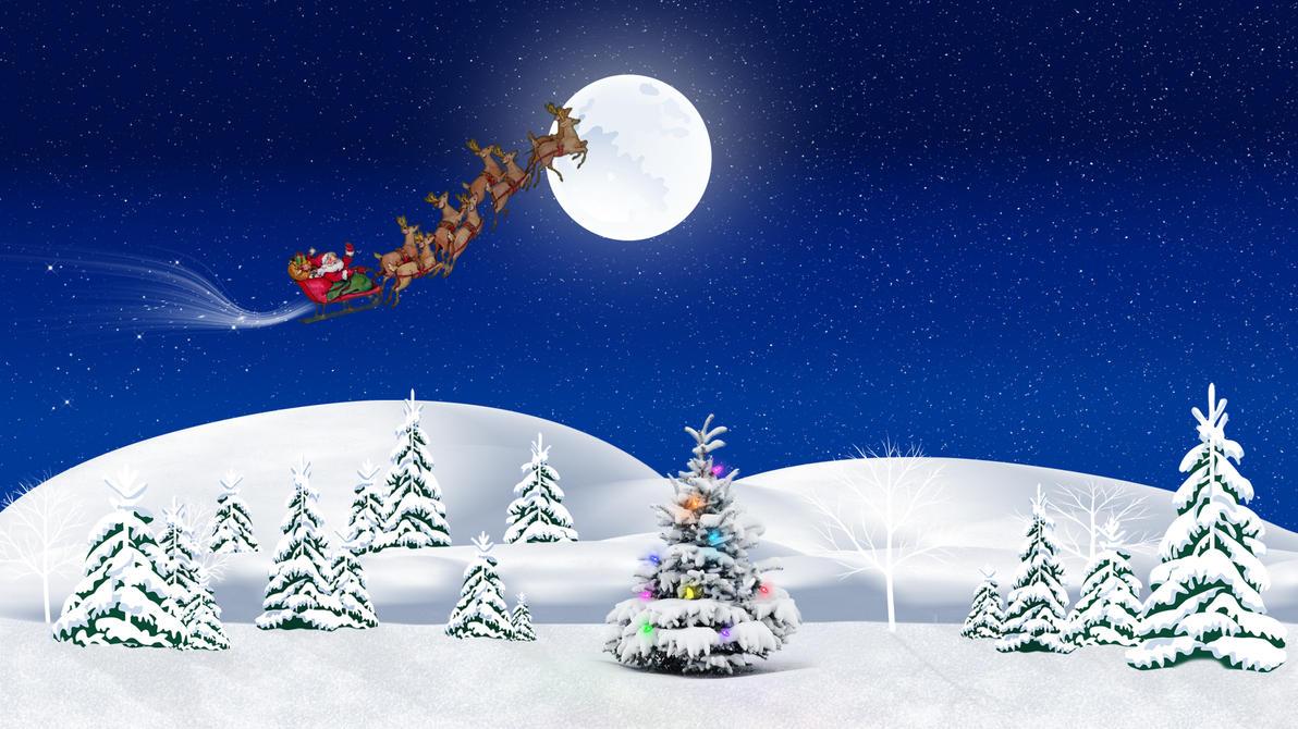 Christmas Santa Magic by Frankief