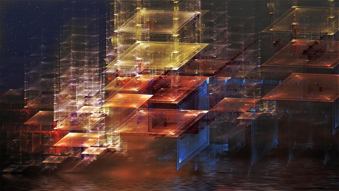 City Reflection by Frankief
