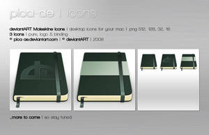 deviantART Moleskine Icons by pica-ae