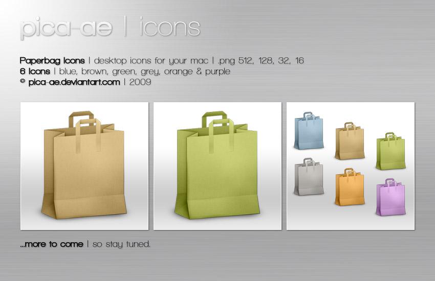 Paperbag Icons