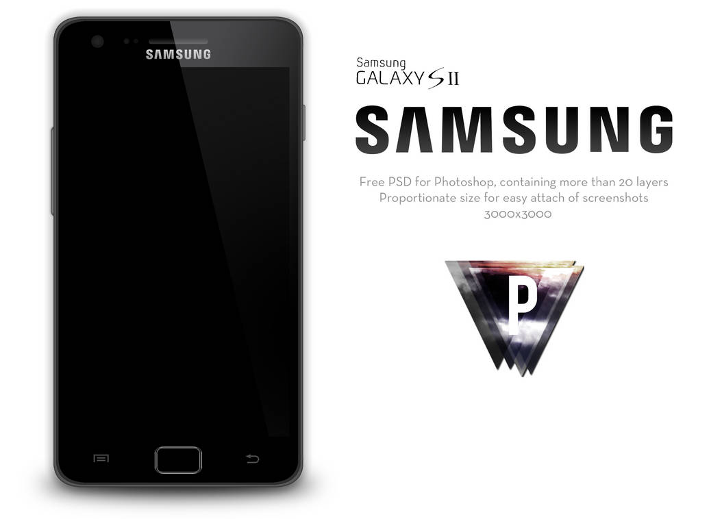Samsung Galaxy S2 PSD