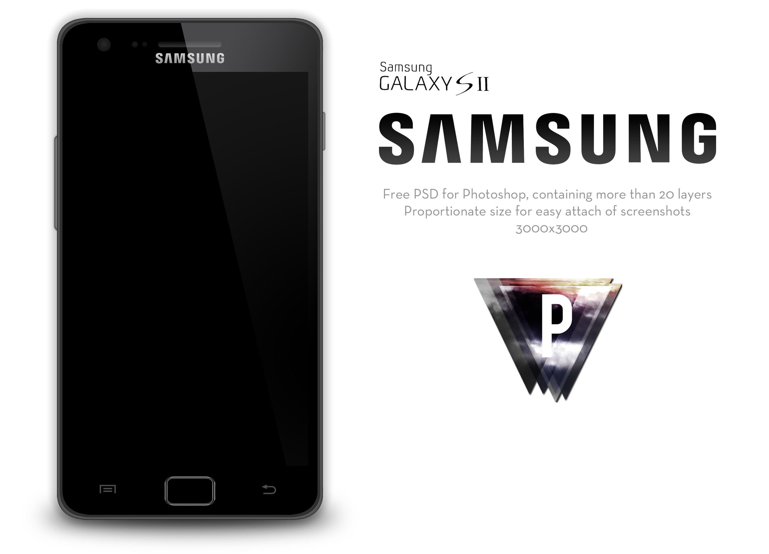 Samsung Galaxy S2 PSD by pethey