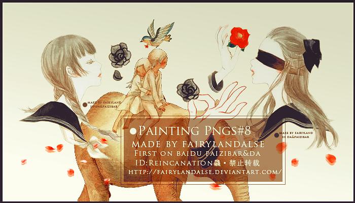 paintings png by Fairylandalse